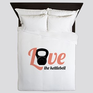 Kettlebell Love Queen Duvet