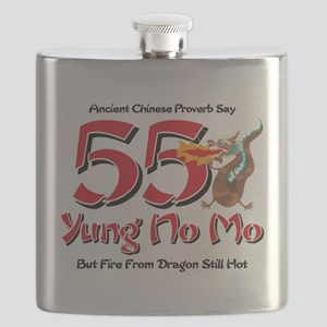 Yung No Mo 55th Birthday Flask