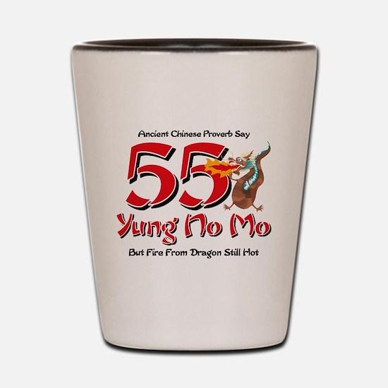 Yung No Mo 55th Birthday Shot Glass