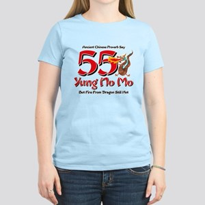 Yung No Mo 55th Birthday Women's Light T-Shirt