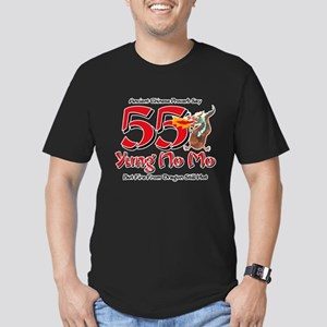 Yung No Mo 55th Birthd Men's Fitted T-Shirt (dark)