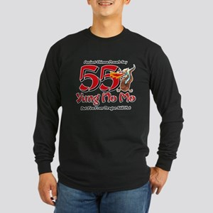 Yung No Mo 55th Birthday Long Sleeve Dark T-Shirt
