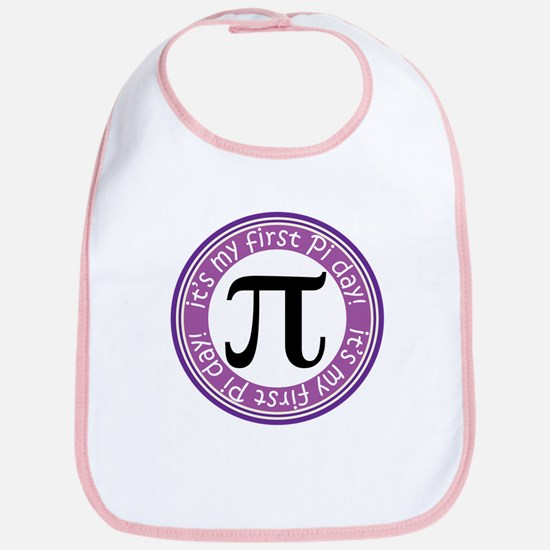 First Pi Day baby Bib