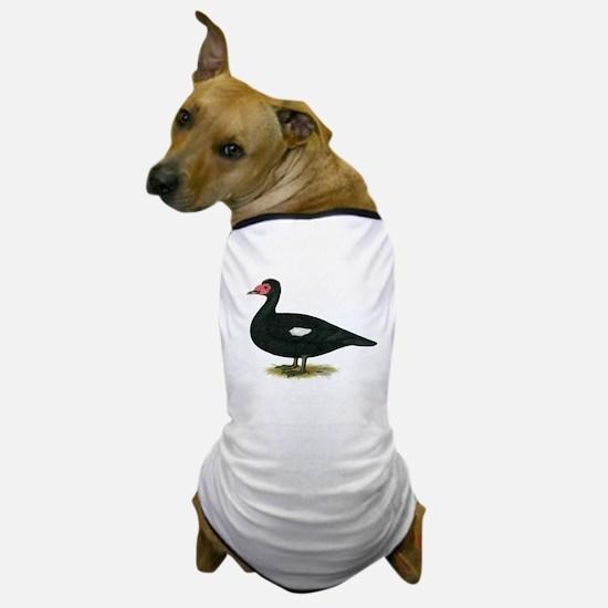 Muscovy Black Drake Dog T-Shirt