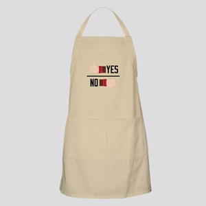 Thumbs Yes No Apron
