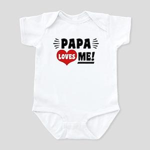 Papa Loves Me Infant Bodysuit
