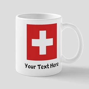Swiss Flag Mugs