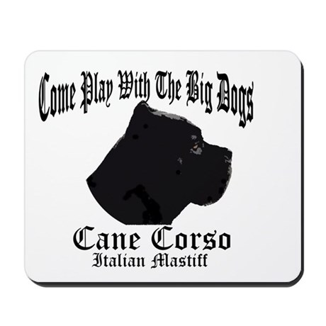Cane Corso Big Dogs Mousepad
