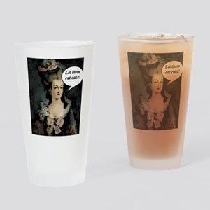 Let Them Eat Cake Comic Drinking Glass