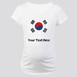 South Korean Flag Maternity T-Shirt