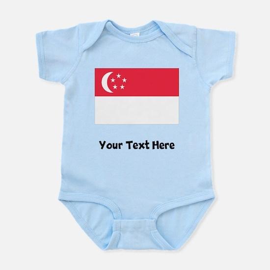 Singaporean Flag Body Suit