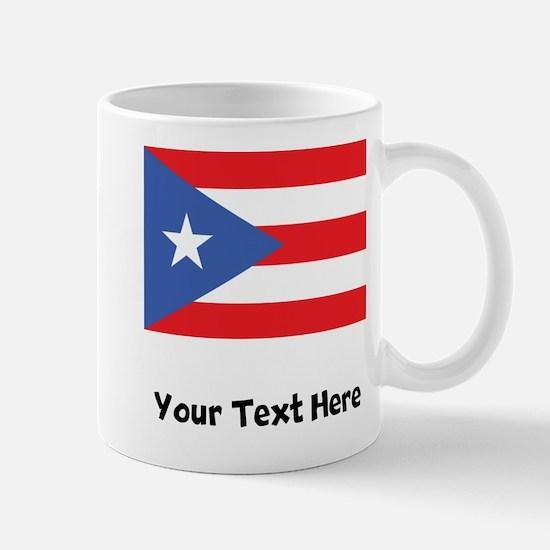 Puerto Rican Flag Mugs