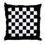 Chess Board Throw Pillow