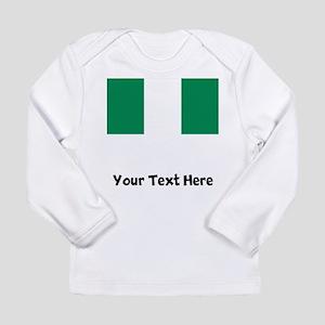 Nigerian Flag Long Sleeve T-Shirt