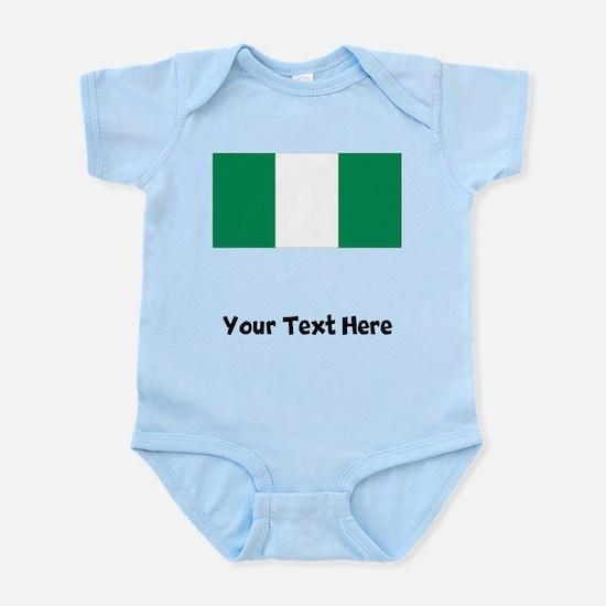 Nigerian Flag Body Suit