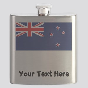 New Zealand Flag Flask