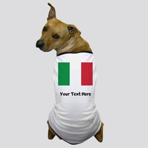 Italian Flag Dog T-Shirt