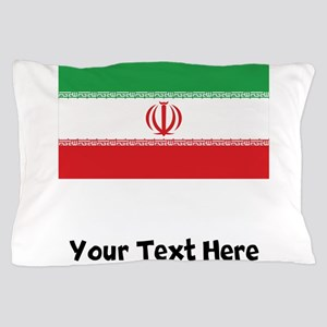 Iranian Flag Pillow Case