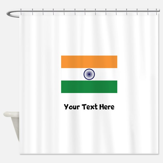 Indian Flag Shower Curtain