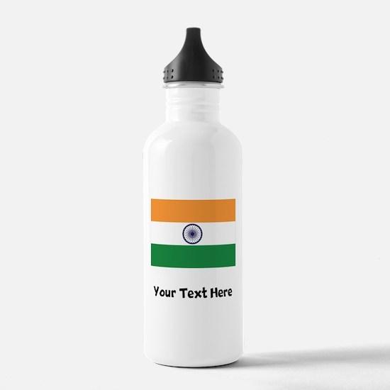 Indian Flag Water Bottle