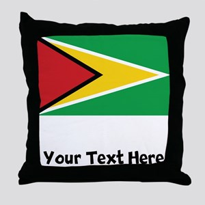 Guyanese Flag Throw Pillow