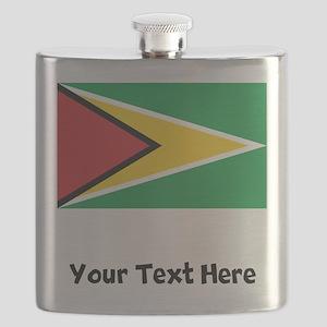 Guyanese Flag Flask