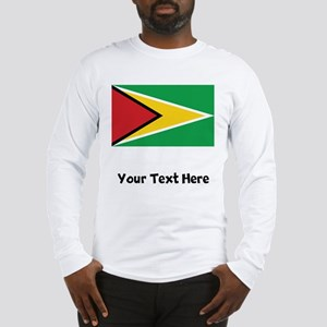 Guyanese Flag Long Sleeve T-Shirt