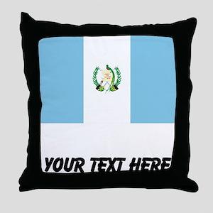 Guatemalan Flag Throw Pillow