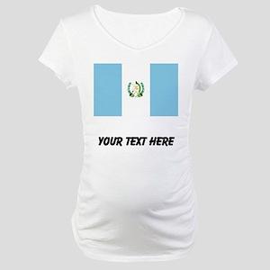 Guatemalan Flag Maternity T-Shirt