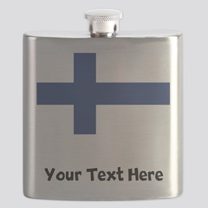 Finnish Flag Flask