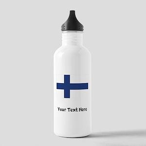 Finnish Flag Water Bottle