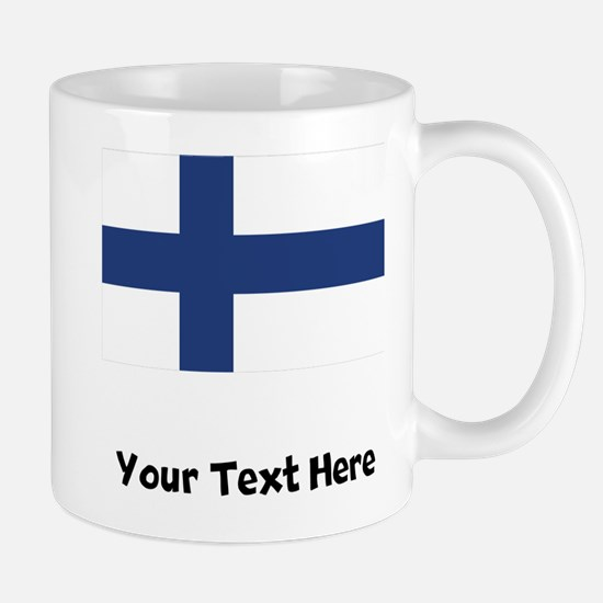Finnish Flag Mugs