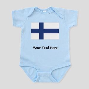 Finnish Flag Body Suit