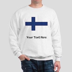 Finnish Flag Sweatshirt