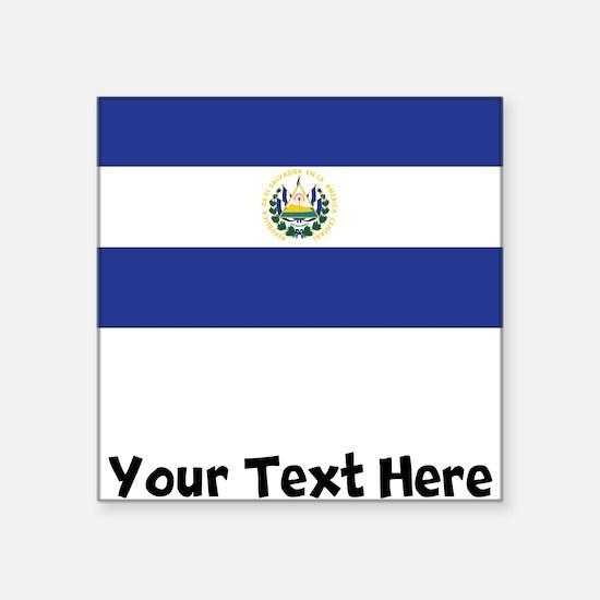 El Salvadorian Flag Sticker