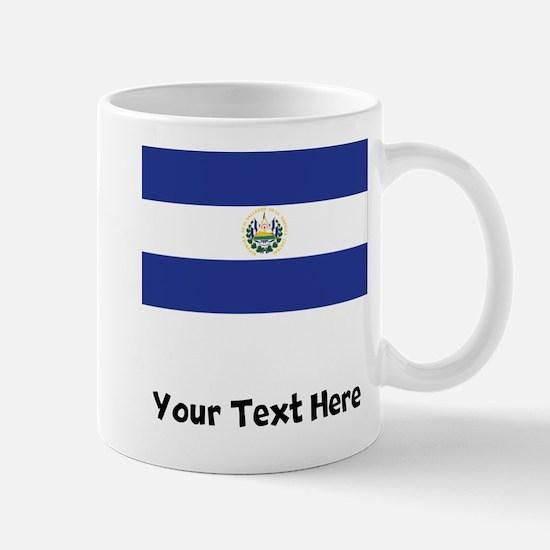 El Salvadorian Flag Mugs