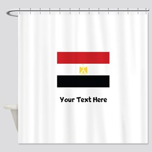 Egyptian Flag Shower Curtain