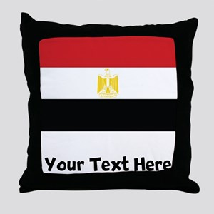Egyptian Flag Throw Pillow