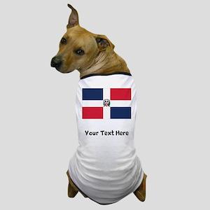 Dominican Flag Dog T-Shirt