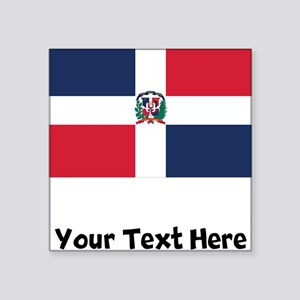 Dominican Flag Sticker