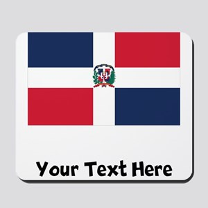 Dominican Flag Mousepad