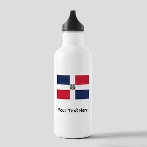 Dominican Flag Water Bottle