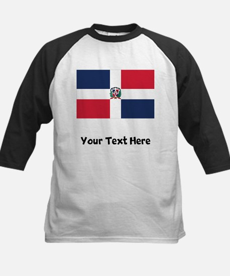 Dominican Flag Baseball Jersey