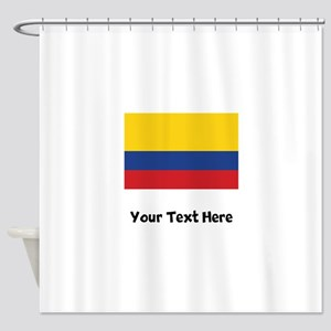 Colombian Flag Shower Curtain