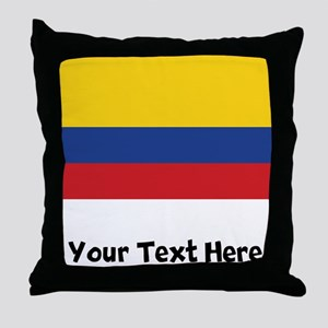 Colombian Flag Throw Pillow