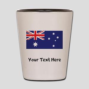 Australian Flag Shot Glass