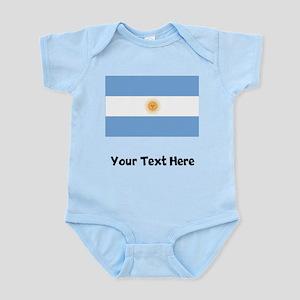 Argentinian Flag Body Suit