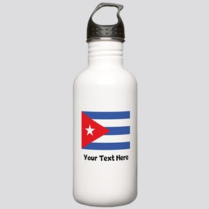 Cuban Flag Water Bottle