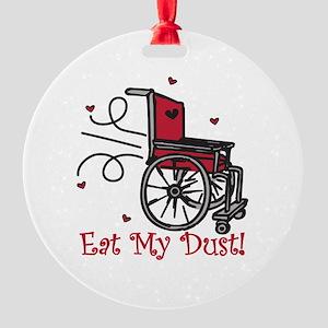 Fast Wheelchair Ornament