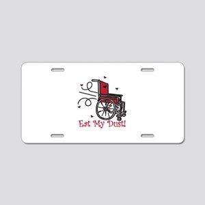 Fast Wheelchair Aluminum License Plate